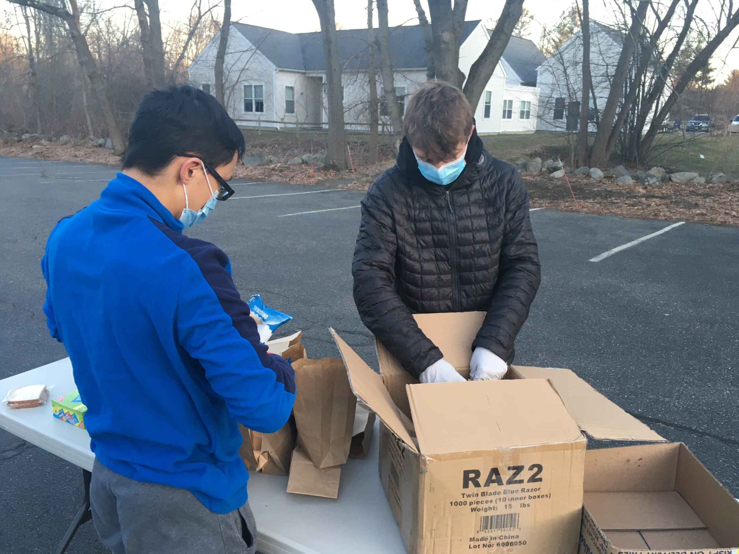 High School Youth Group - Emergency Care Kits for the Homeless in Boston!!!