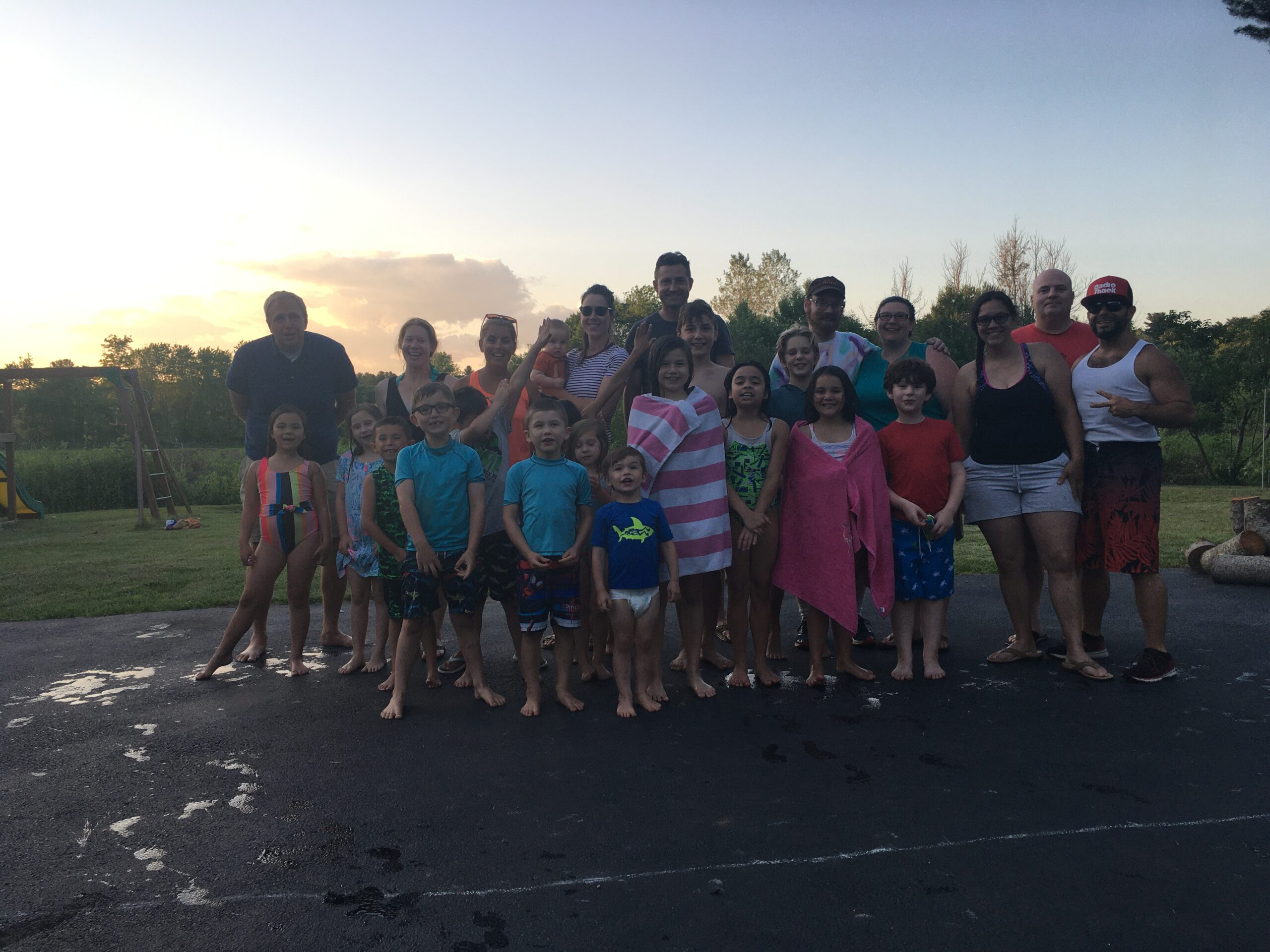 Fire Fly – End of the Year Cook-Out and Pool Party at the Rice's!